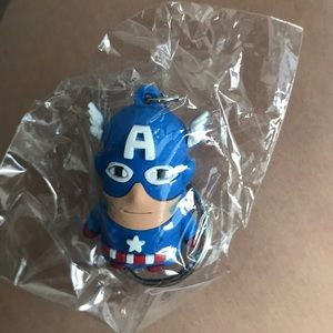 Other - Captain America keychain